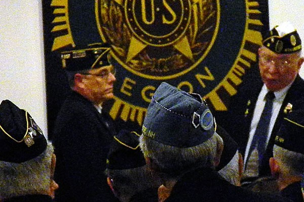 Daniel Belliveau takes over the the Installation as the New Commander for American Legion Post 2, Sweeney Post.