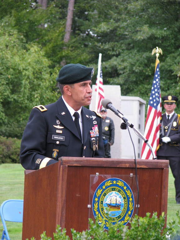 Senior Commander of the State Cementary