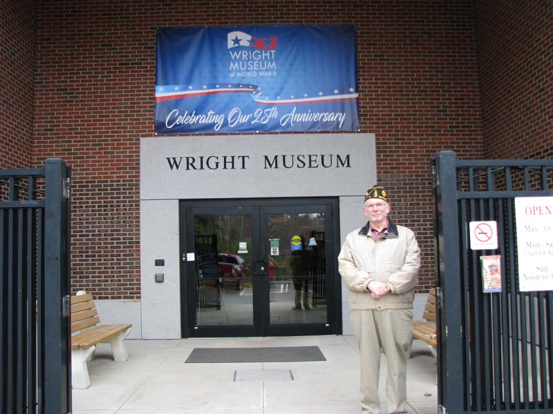 Opening Day for 100th year Anniversary for the American Legion at the Wright Museum