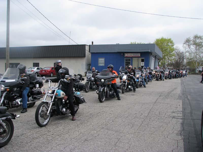 Riders on Parade