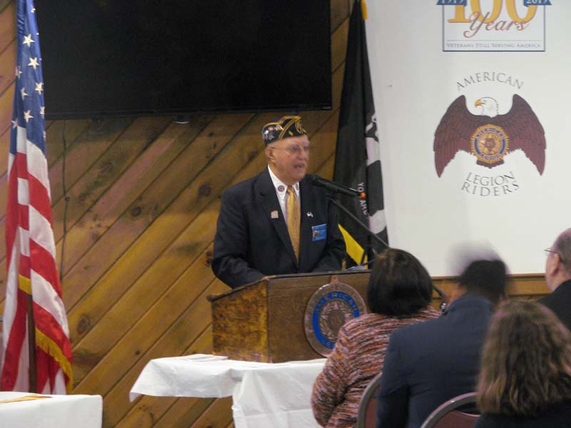 Speech from the Master of Ceremonies Tony Violanti