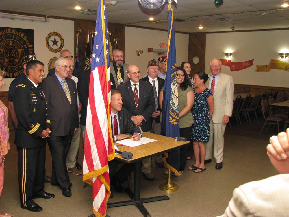 SB 208 Bill Signing with Governor Sununu