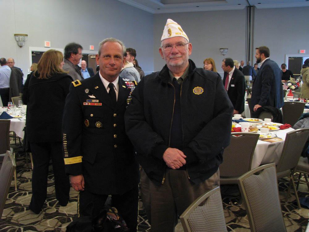 General Bolduc & Depart. Historian Wayne MItchell