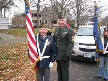 Jim Connolly and Bill Biser Veterans Day Parade 2019