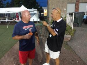 Brian with Rick Harvey (NH Baseball Chairman)