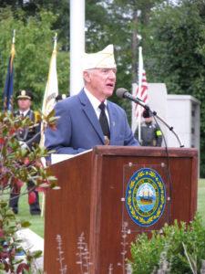 Commander for Catholic Vet org.